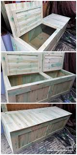 Wooden Box Bed Furniture Gorgeous Pallet Wood Toy Box Projects Box Bed Big Project And
