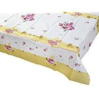 paper table cover with plastic liner amazon co uk tablecloths kitchen linen home kitchen