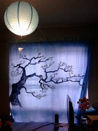 how to design bedroom curtains out of shower curtains 5 6