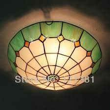 stained glass ceiling light fixtures tiffany style ceiling light stained glass lshade handcrafted