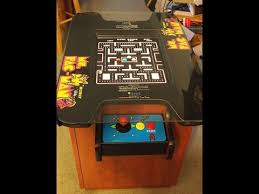 ms pacman cocktail table replica build part 1 youtube