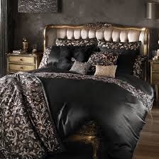 lazzaro black bed linen by kylie minogue at home house of bedding