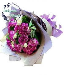 purple carnations send carnations to online flower delivery