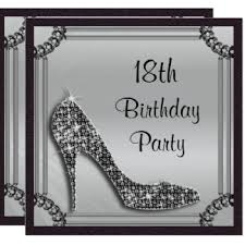 18th birthday invitations u0026 announcements zazzle co uk