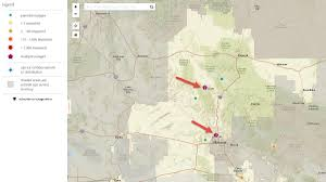 Scottsdale Zip Code Map by When The Power Goes Out Aps Outage Map Lights Up With Info