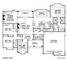 Donald Gardner Floor Plans Home Plan The Peyton By Donald A Gardner Architects