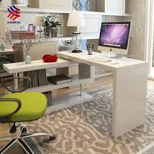 L Shaped Student Desk T Corner L Shaped Student Folding Adjustable Rotating Executive