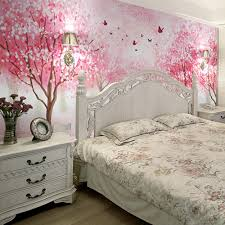 cherry blossom bedroom 3d photo wallpaper 3d stereo cherry blossom wallpaper mural