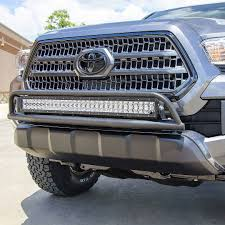 tacoma grill light bar or light bar with multi mount now available for 2016 tacoma