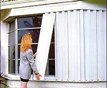 pompano beach hurricane shutters accordion roll storm panels