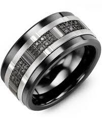ceramic diamond rings images 29 best men 39 s black ceramic wedding rings 2018 images jpg