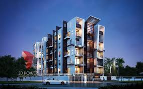 Township Apartments Design D Rendering - Apartment architectural design