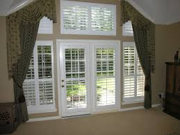 Window Coverings For French Doors Great Idea Of Plantation Shutters For French Doors U2014 Prefab Homes