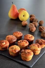 cuisiner la poir mini cakes poire noix et roquefort je vais vous cuisiner