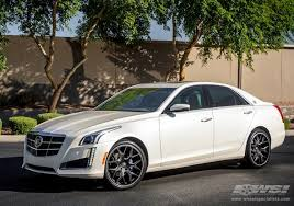 cadillac cts 20 inch wheels 2014 cadillac cts with 20 gianelle in matte black wheels
