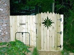 Backyard Gate Ideas Inexpensive Privacy Fence Gate Ideas Comqt