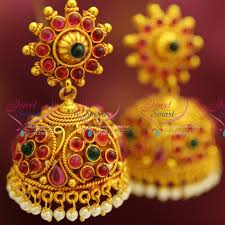 gold jhumka earrings design awesome gold jewellery designs earrings jhumka jewellry s website