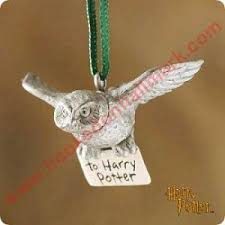 2000 hedwig the owl harry potter hallmark ornament at hooked on