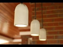 Pendant Light Diy Diy Concrete Pendant Lights