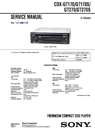 sony xplod cdx gt330 wiring diagram wiring diagram and schematic