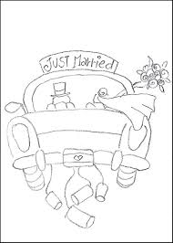 strikingly design ideas just married coloring page just married