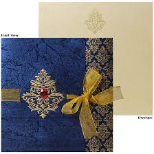 wedding cards from india royal blue indian wedding invitations search wedding