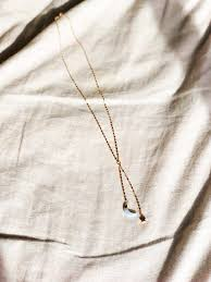 star drop necklace images Aurora moon star drop necklace noornoir jpg