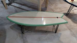 Surfboard Coffee Table 15 Cool Surfboard Coffee Tables That Are Totally Rad