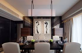 dining room amazing modern dining room lighting design with