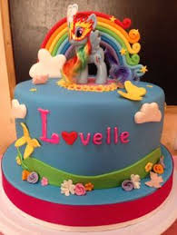 rainbow dash by time for tiffin cakes u0026 cake decorating daily