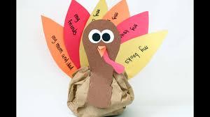 stuffed turkey craft for kids youtube