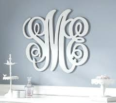 iron on monogram initials initials wall decor monogrammed wrought iron wall decor