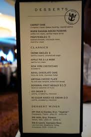 awesome allure of the seas main dining room menu 31 on home design