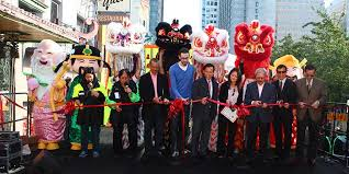 parade ribbon the southwest airlines new year parade