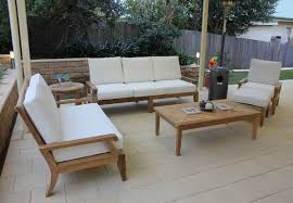 Patio Sofa Clearance by Sofas Center Amazing Teak Outdoor Sofa Photos Design Pc Teakwood