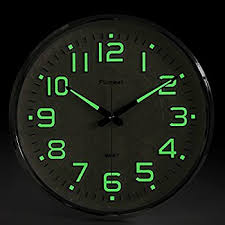 lighted digital wall clock amazon com 14 inch double ring neon clock inner and outer ring