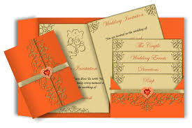 wedding ceremony phlet festival tech card invitation ideas