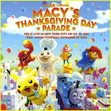 macy s thanksgiving day parade 2014 balloon performers list