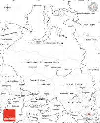 Geography Blog Russia Outline Maps by Blank Simple Map Of Western Siberia