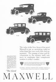 motor corporation maxwell motor corporation advertisement gallery