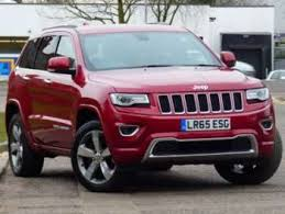red jeep cherokee used jeep grand cherokee red for sale motors co uk