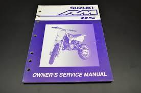 suzuki rm85 owner 100 images genuine suzuki rm85 service kit