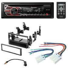 nissan accessories installation guides amazon com pioneer aftermarket car radio stereo cd player dash