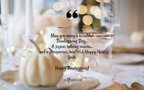 thanksgiving day wish quote