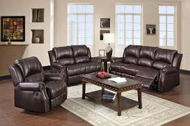 Stylish Recliner Furniture Charming Stylish Recliners With Brown Leather Material