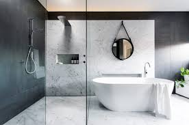 bathroom design refined yet minimalist bathroom design with greenery digsdigs