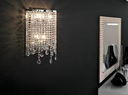 Crystal Wall Sconces by 53 Modern Crystal Wall Sconces Home Wall Lights Crystal Wall