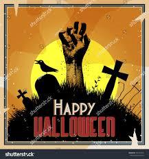 creepy halloween background vector creepy halloween background illustration zombie stock