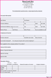 8 application form for employment