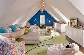 Attic Space Design by 16 Living Rooms With Accent Walls